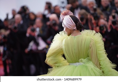 "CANNES, FRANCE. May 17, 2019: Deepika Padukone at the gala premiere for ""Pain and Glory"" at the Festival de Cannes."