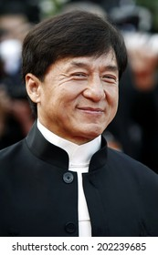 CANNES, FRANCE - MAY 17: Actor Jackie Chan attend the 'De Rouille et D'os' Premiere during the 65th Cannes Film Festival on May 17, 2012 in Cannes, France