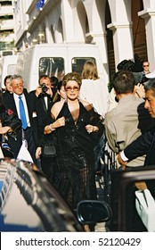 CANNES, FRANCE - MAY 17: French actress Catherine Deneuve attend the Cannes Film Festival on May 17, 2000 in Cannes, France