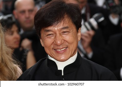 CANNES, FRANCE - MAY 17: Jackie Chan  attends the 'De Rouille et D'os' Premiere during the 65th  Cannes Film Festival at Palais des Festivals on May 17, 2012 in Cannes, France.