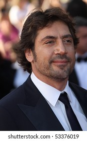 CANNES, FRANCE - MAY 17: Javier Bardem  attends 'Biutiful' Premiere at the Palais des Festivals during the 63rd Annual Cannes Film Festival on May 17, 2010 in Cannes, France