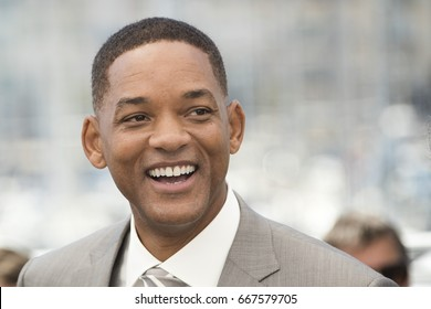 CANNES, FRANCE - MAY 17: (L-R)  jury member Will Smith attends the Jury photocall during the 70th annual Cannes Film Festival at Palais des Festivals on May 17, 2017 in Cannes, France.