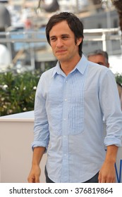 """CANNES, FRANCE - MAY 18, 2014: Gael Garcia Bernal at the photocall for his movie """"El Ardor"""" at the 67th Festival de Cannes."""