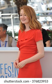 "CANNES, FRANCE - MAY 18, 2014: Miranda Otto at the photocall for her new movie ""The Homesman"" at the 67th Festival de Cannes."