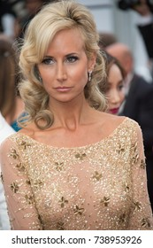 "CANNES, FRANCE. May 18, 2017: Lady Victoria Hervey at the premiere for ""Loveless"" at the 70th Festival de Cannes"