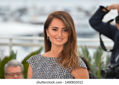 """CANNES, FRANCE. May 18, 2019: Penelope Cruz at the photocall for the """"Pain and Glory"""" at the 72nd Festival de Cannes.Picture: Paul Smith / Featureflash"""