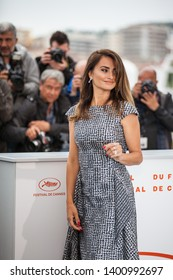 "CANNES, FRANCE - MAY 18, 2019: Penelope Cruz attends the photocall for ""Pain And Glory (Dolor Y Gloria/ Douleur Et Glorie)"" during the 72nd annual Cannes Film Festival"