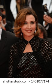 """CANNES, FRANCE. May 18, 2019: Elsa Zylberstein  at the gala premiere for """"The Most Beautiful Years of a Life"""" at the Festival de Cannes.Picture: Paul Smith / Featureflash"""