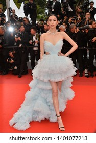 "CANNES, FRANCE. May 18, 2019: Ming Xi at the gala premiere for ""The Most Beautiful Years of a Life"" at the Festival de Cannes.