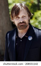 CANNES, FRANCE - MAY 18: Actor Viggo Mortensen attends 'Jauja' photocall at the 67th Annual Cannes Film Festival on May 18, 2014 in Cannes, France.