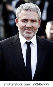 CANNES, FRANCE- MAY 18: Director Stephane Brize attends 'The Measure of a Man' premiere during the 68th Cannes Film Festival in Cannes, France, on May 18, 2015.