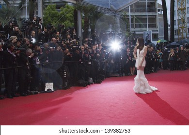 CANNES, FRANCE - MAY 18: A general view of atmosphere Palais des Festivals on during the 66th Annual Cannes Film Festival on May 18, 2013 in Cannes, France.