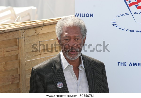 CANNES, FRANCE - MAY 18: Morgan Freeman  attends a photocall    during the 58th International Cannes Film Festival May 18, 2005 in Cannes, France