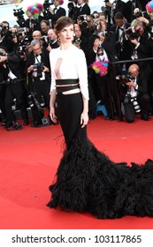 CANNES, FRANCE - MAY 18: Paz Vega attends the 'Once Upon A Time' Premiere during 65th Annual Cannes Film Festival during at Palais des Festivals on May 18, 2012 in Cannes, France.