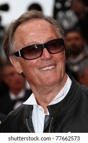 CANNES, FRANCE - MAY 18: Peter Fonda attends the 'La Conquete' premiere during 64th Annual Cannes Film Festival at Palais des Festivals on May 18, 2011 in Cannes, France