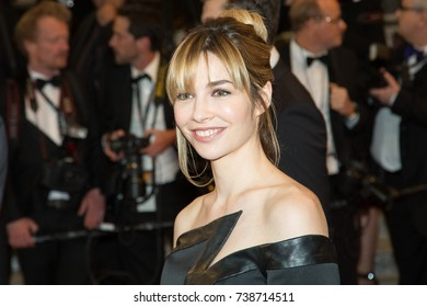 CANNES, FRANCE - MAY 19, 2016: Alix Benezech attends the 'It's Only The End Of The World (Juste La Fin Du Monde)'  premiere during the 69th annual Cannes Film Festival at the Palais des Festivals