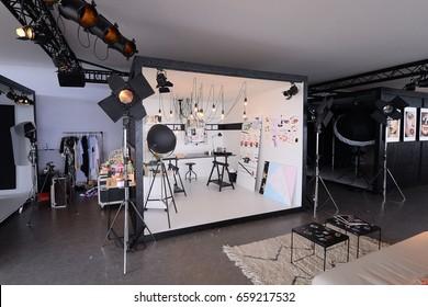 CANNES, FRANCE - MAY 19, 2017 Make Up studio L'Oreal Paris