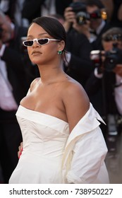 "CANNES, FRANCE. May 19, 2017: Rihanna at the premiere for ""Okja"" at the 70th Festival de Cannes"