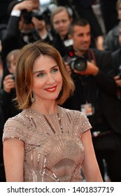 """CANNES, FRANCE. May 19, 2019: Elsa Zylberstein  at the gala premiere for """"A Hidden Life"""" at the Festival de Cannes.Picture: Paul Smith / Featureflash"""