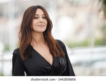 """CANNES, FRANCE - MAY 19, 2019: Monica Bellucci attends the photocall for """"The Best Years of a Life (Les Plus Belles Annees D'Une Vie)"""" during the 72nd annual Cannes Film Festival"""