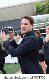 CANNES, FRANCE - MAY 19: Channing Tatum attends the 'Foxcatcher' photocall at the 67th Annual Cannes Film Festival on May 19, 2014 in Cannes, France.