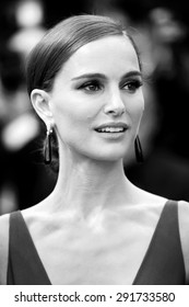 CANNES, FRANCE- MAY 19: Natalie Portman attends the 'Sicario' premiere during the 68th Cannes Film Festival on May 19, 2015 in Cannes, France.