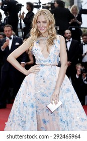 CANNES, FRANCE- MAY 19: Petra Nemcova attends the 'Sicario' premiere during the 68th annual Cannes Film Festival on May 19, 2015 in Cannes, France.