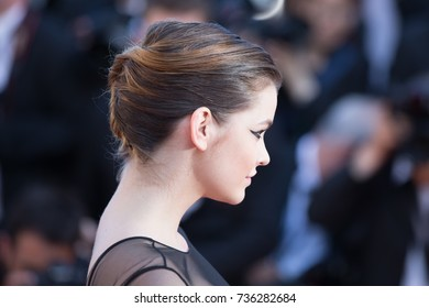 CANNES, FRANCE - MAY 20, 2015: Barbara Palvin  attends the 'Youth' premiere. 68th annual Cannes Film Festival at the Palais des Festivals