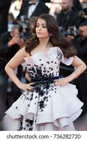 CANNES, FRANCE - MAY 20, 2015: Aishwarya Rai attends the 'Youth' premiere. 68th annual Cannes Film Festival at the Palais des Festivals