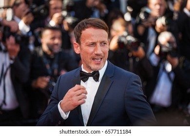 CANNES, FRANCE - MAY 20, 2017: Wotan Wilke Moehring attends the '120 Beats Per Minute (120 Battements Par Minute)' screening during the 70th annual Cannes Film Festival at Palais des Festivals