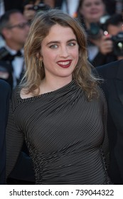 "CANNES, FRANCE. May 20, 2017: Adele Haenel at the premiere for ""120 Beats per Minute"" at the 70th Festival de Cannes"
