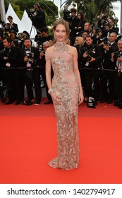 "CANNES, FRANCE. May 20, 2019: Natalia Vodianova at the gala premiere for ""La Belle Epoque"" at the Festival de Cannes.
