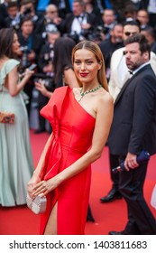 """CANNES, FRANCE - MAY 20, 2019:  Petra Nemcova attends the screening of """"Le Belle Epoque"""" during the 72nd annual Cannes Film Festival"""