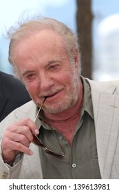 CANNES, FRANCE - MAY 20: Actor James Caan attends the photocall for 'Blood Ties' at The 66th Annual Cannes Film Festival on May 20, 2013 in Cannes, France.