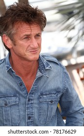 CANNES, FRANCE - MAY 20: Actor Sean Penn attends the 'This Must Be The Place' photocall during the 64th Annual Cannes Film Festival at Palais des Festivals on May 20, 2011 in Cannes, France.
