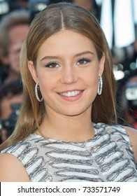 CANNES, FRANCE - MAY 20: Adele Exarchopoulos attends the 'The Last Face' premiere. 69th annual Cannes Film Festival at the Palais des Festivals on May 20, 2016 in Cannes