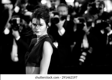 CANNES, FRANCE- MAY 20: Kendall Jenner attends the Premiere of 'Youth' during the 68th Cannes Film Festival on May 20, 2015 in Cannes, France.