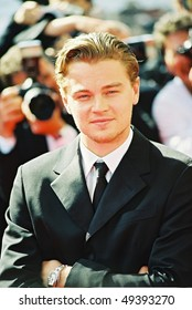 CANNES, FRANCE - MAY 20: Leonardo DiCaprio attends the photo call 'Gangs of New York'  during the 55th Cannes film festival, May 20, 2002 in Cannes, France