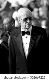 CANNES, FRANCE- MAY 20: Michael Caine attends the 'Youth' Premiere during the 68th Cannes Film Festival on May 20, 2015 in Cannes, France.