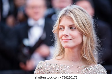 CANNES, FRANCE - MAY 21, 2015: Melanie Laurent  attends the 'Inside Out' premiere. 68th annual Cannes Film Festival at the Palais des Festivals