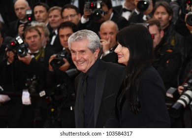 CANNES, FRANCE - MAY 21: Claude Lelouch attends the 'Vous N'avez Encore Rien Vu' premiere during the 65th  Cannes  Festival at Palais des Festivals on May 21, 2012 in Cannes, France