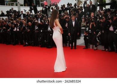 CANNES, FRANCE - MAY 21: Guest attends 'The Search' Premiere during the 67th Cannes Film Festival on May 21, 2014 in Cannes, France.