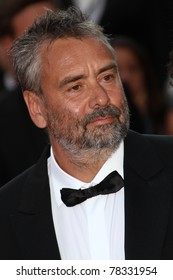 CANNES, FRANCE - MAY 21: Writer Luc Besson attends the 'La Source Des Femmes' Premiere at Palais des Festivals during the 64th Annual Cannes Film Festival on May 21, 2011 in Cannes, France