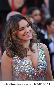 """CANNES, FRANCE - MAY 22, 2012: Kelly Brook at the premiere of """"Killing Them Softly"""" in Cannes. May 22, 2012  Cannes, France"""
