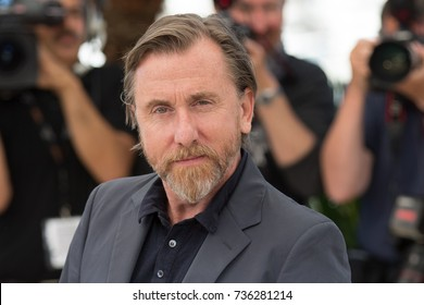 """CANNES, FRANCE - MAY 22, 2015: Tim Roth attends the 'Chronic"""" photocall. 68th annual Cannes Film Festival at the Palais des Festivals"""