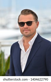 """CANNES, FRANCE. May 22, 2019: Leonardo DiCaprio at the photocall for """"Once Upon a Time in Hollywood"""" at the 72nd Festival de Cannes.Picture: Paul Smith / Featureflash"""
