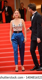 """CANNES, FRANCE. May 22, 2019: Lea Seydoux & Antoine Reinartz at the gala premiere for """"Oh Mercy!"""" at the Festival de Cannes.Picture: Paul Smith / Featureflash"""