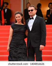 """CANNES, FRANCE. May 22, 2019: Leonardo DiCaprio & Leila Conners at the gala premiere for """"Oh Mercy!"""" at the Festival de Cannes.Picture: Paul Smith / Featureflash"""