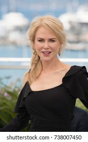 "CANNES, FRANCE. May 23, 2017: Nicole Kidman at the photocall for ""Top of the Lake: China Girl"" at the 70th Festival de Cannes"