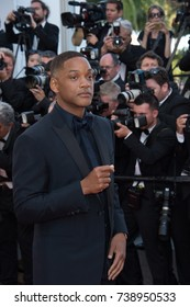 CANNES, FRANCE. May 23, 2017: Will Smith at the 70th Anniversary Gala for the Festival de Cannes
